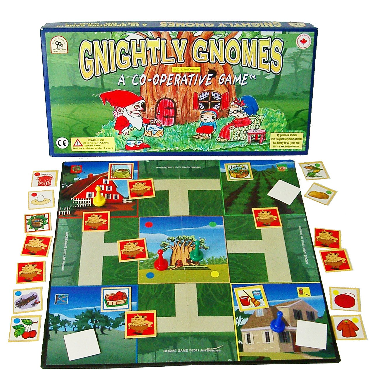 Family Pastimes Gnightly Gnomes A Co operative Fantasy Game