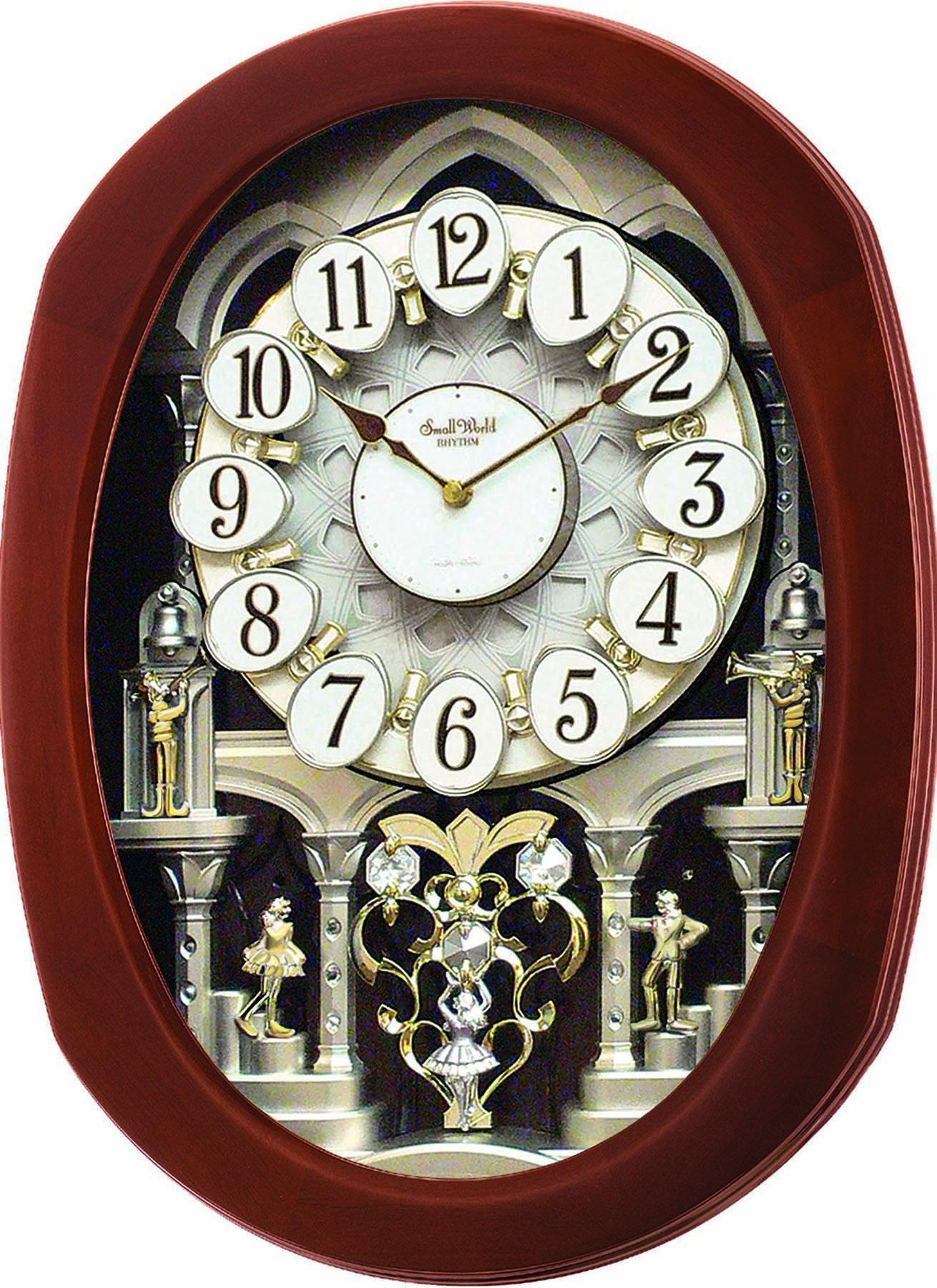 Rhythm Clocks ''Grand Encore II'' Magic Motion Clock by Rhythm Clocks