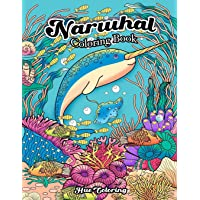 Narwhal Coloring Book: An Adult Coloring Book of the Unicorn of the Sea