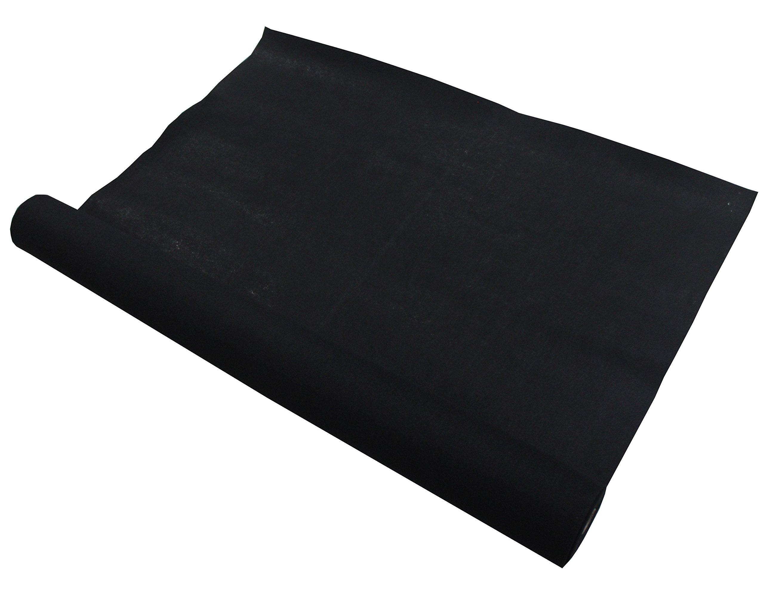 Absolute C15BK 15-Feet Long/4-Feet Wide Black Carpet for Speaker Sub Box Carpet rv Truck Car Trunk Laner by Absolute