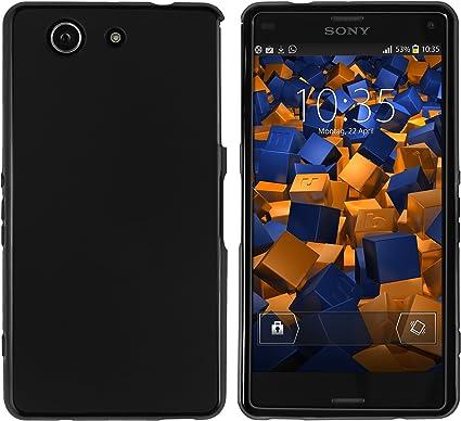 Mumbi Cover - Funda para Sony Xperia Z3 Compact, negro: Amazon.es ...