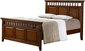 Sunset Trading Tremont Bedroom King Bed, Warm chestnut with satin gloss finish