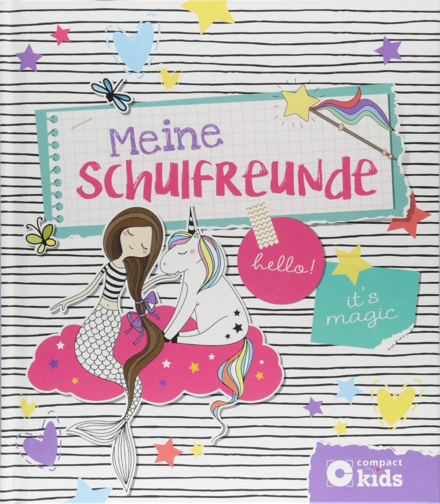 Meine Schulfreunde: Feen & Einhörner Gebundenes Buch – 15. August 2018 Cornelia Giebichenstein Circon Verlag GmbH 3817421427 empfohlenes Alter: ab 6 Jahre