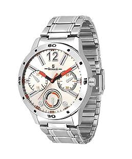 Geonardo Analogue White Dial Men's Watch - GDM036