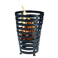 Tepro Benton Feuerstelle XXL schwarz Fire Pit ✔ rund