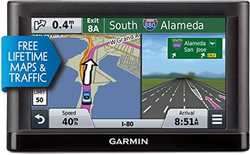 Garmin n vi 56LMT GPS Navigators System with Spoken Turn-by-Turn Directions, Preloaded Maps and Speed Limit Displays US Renewed