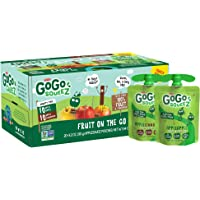 Applesauce on the Go made from 100% fruit & cinnamon in portable, BPA-free, squeezable pouches