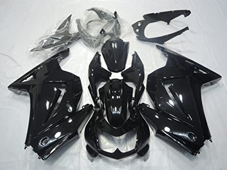 ZXMOTO ABS Motorcycle Bodywork Fairing Kit for Kawasaki Ninja 250R EX250 2008 2009 2010 2011 2012 Blue Automotive Pieces/kit: 15