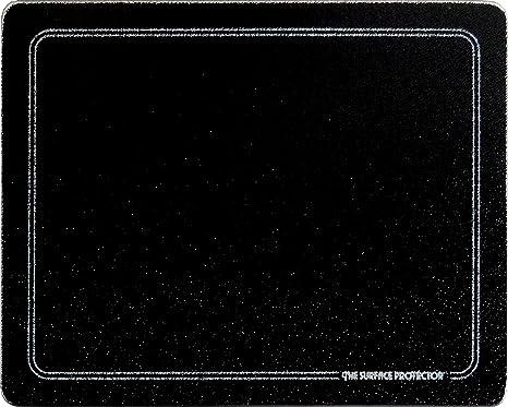 Amazon.com: Negro con borde blanco vidrio templado Saver ...