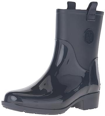 e3ea7bf4c Tommy Hilfiger Women s Khristie Rain Boot Marine 6 ...