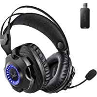 VANKYO Wireless Gaming Headset for PS5 PS4 PC, Noise Cancelling Gaming Headphones with Detachable Mic, 30H Long Lasting…