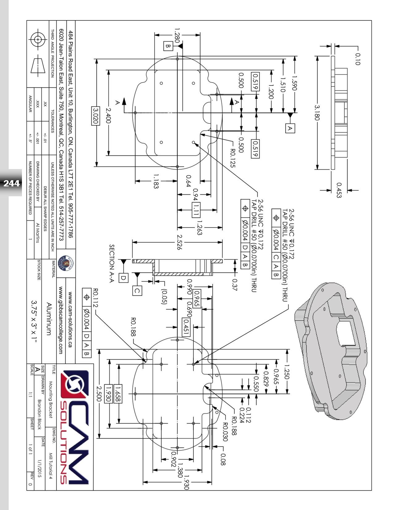 Gibbscam 2015 2016 Milling Textbook By Cam Solutions 08 02 Ball Mill Schematic For Pinterest Cad Cnc Engineering Specialists 9781928009054