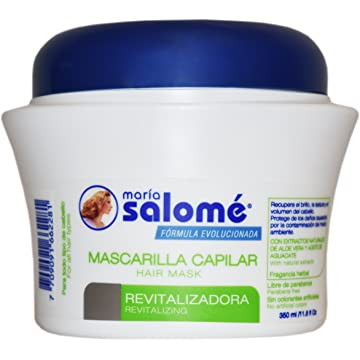 Maria Salome Hair Mask Revitalizing Mascarilla Capilar Revitalizadora 350ml 11.8oz