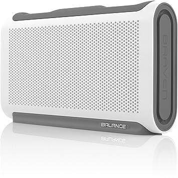 Waterproof BRAVEN BALANCE Wireless HD Bluetooth Speaker NEW!! - Blue