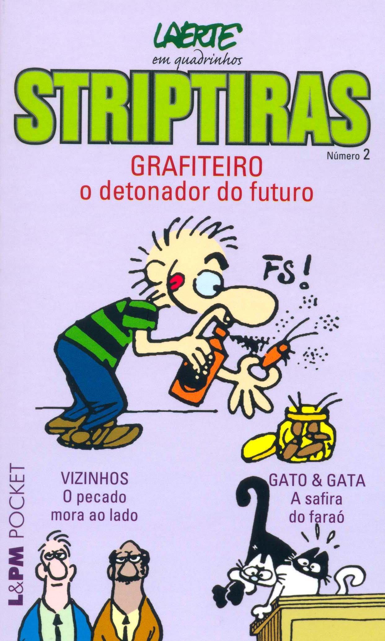 Striptiras 2 - Coleção L&PM Pocket (Em Portuguese do Brasil): Laerte: 9788525416483: Amazon.com: Books