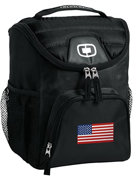 Review American Flag Lunch Bag
