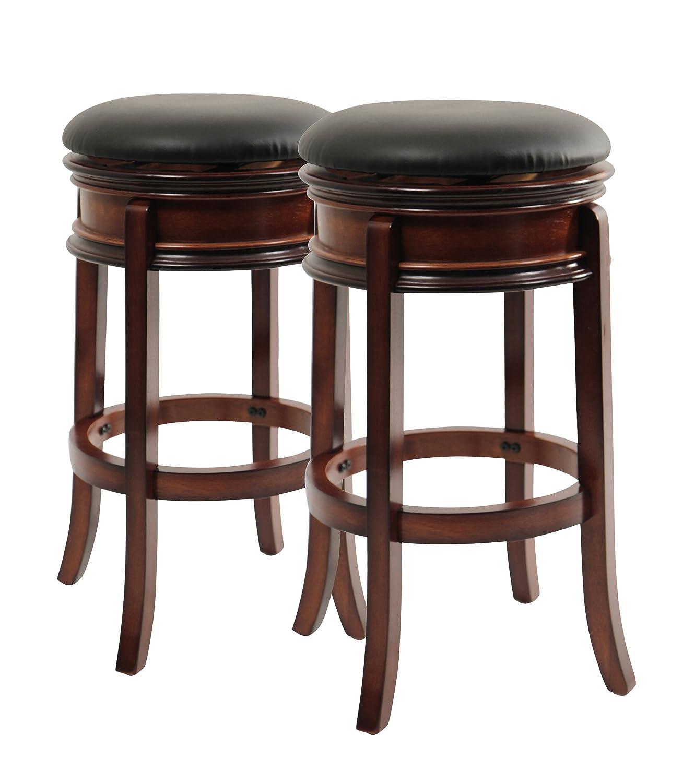 Amazon Boraam Magellan Counter Height Swivel Stool Inch Brandy Kitchen Dining