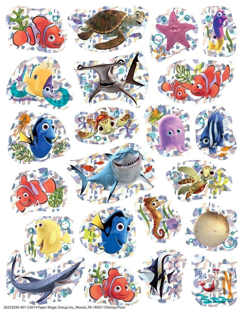 DORY Disney SHARKS Starfish SEA LIFE Prism Teacher Motivational Rewards EDUCATION Classroom Party Favors Mixed 88 FINDING NEMO Sparkle Stickers