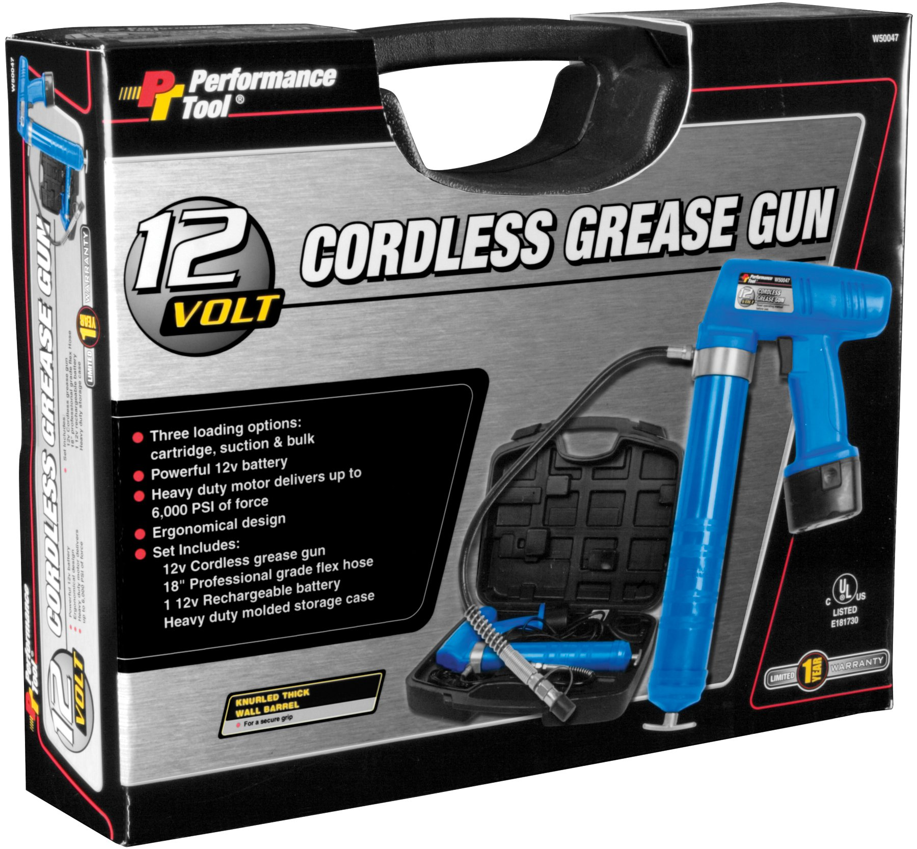 Performance Tool W50047 12V Grease Gun