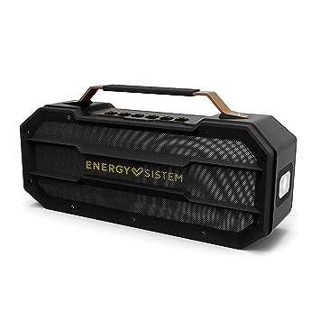 Energy Outdoor Box Street Altavoz portátil con Bluetooth (50W, USB, microSD, FM Radio, Power Bank, a Prueba de Golpes)