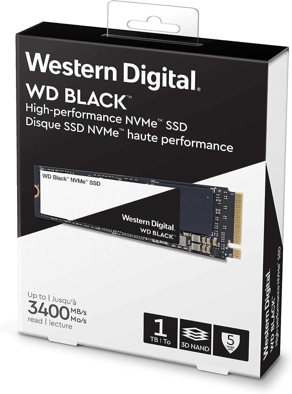 WD Black NVMe SSD M.2 - Disco duro sólido (SSD 1 TB, 1000 GB, M.2 ...