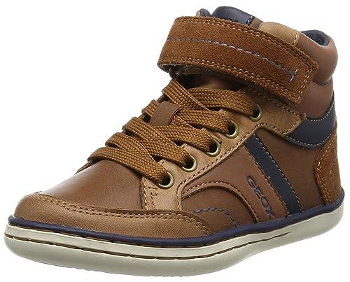 7bd344a125d2c Geox Jr Garcia A, Baskets Hautes garçon  Amazon.fr  Chaussures et Sacs