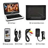 UEME Portable DVD Player with 10.1 inches LCD