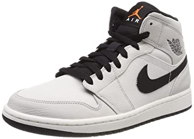 low priced 70e0a 1f196 Nike Air Jordan 1 Mid Se Chaussures de Fitness Homme, Multicolore (Light  Bone