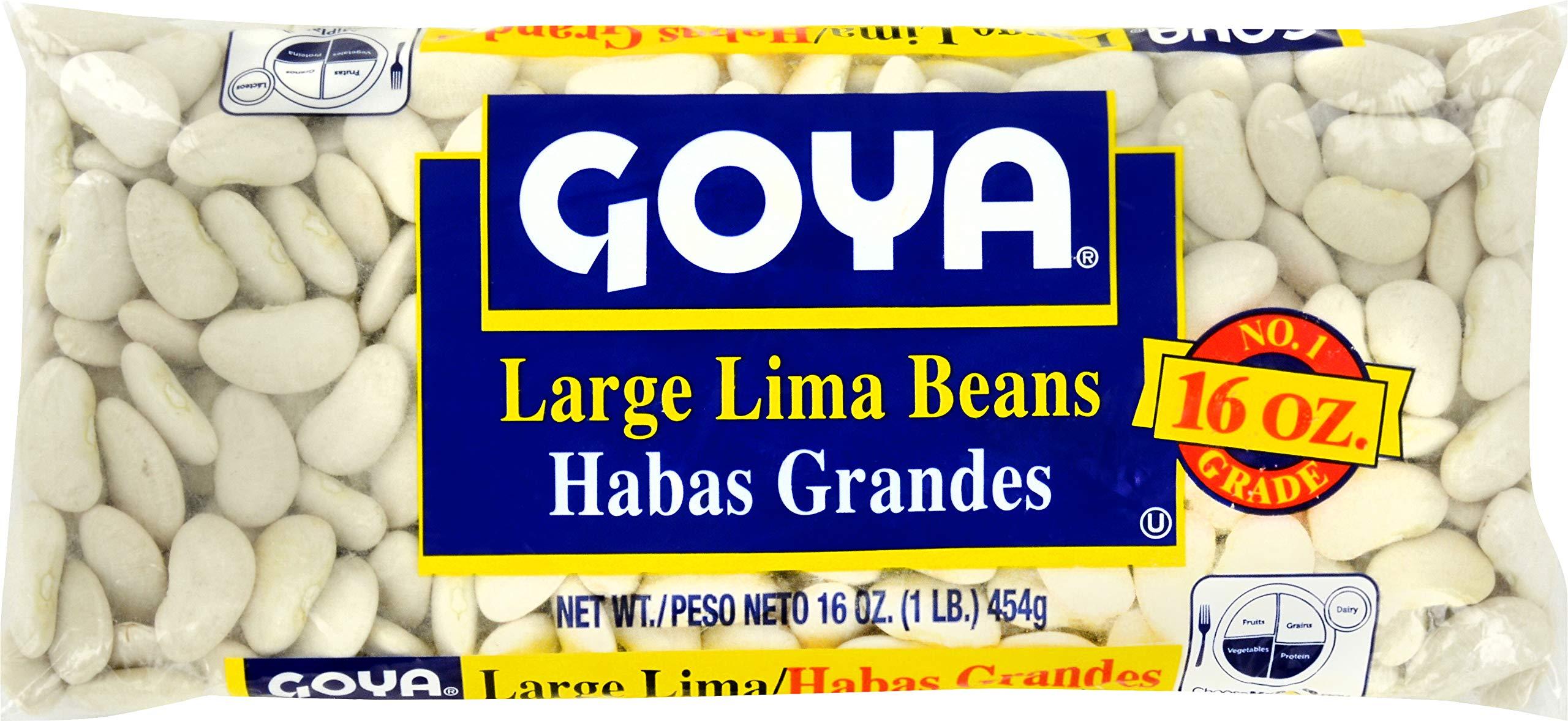 Goya, Large Lima Beans, 16 Ounce