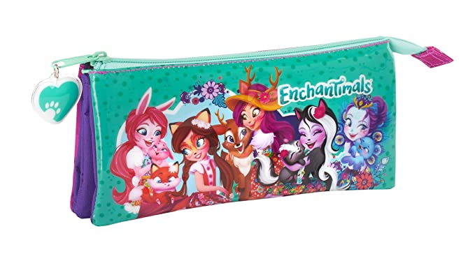 Enchantimals SAFTA Estuche Escolar Oficial 220x30x100mm