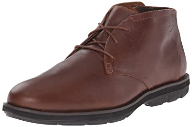 Brown Chukka Kempton Plain Toe Boots Men's Dark Timberland xBdQeWCro