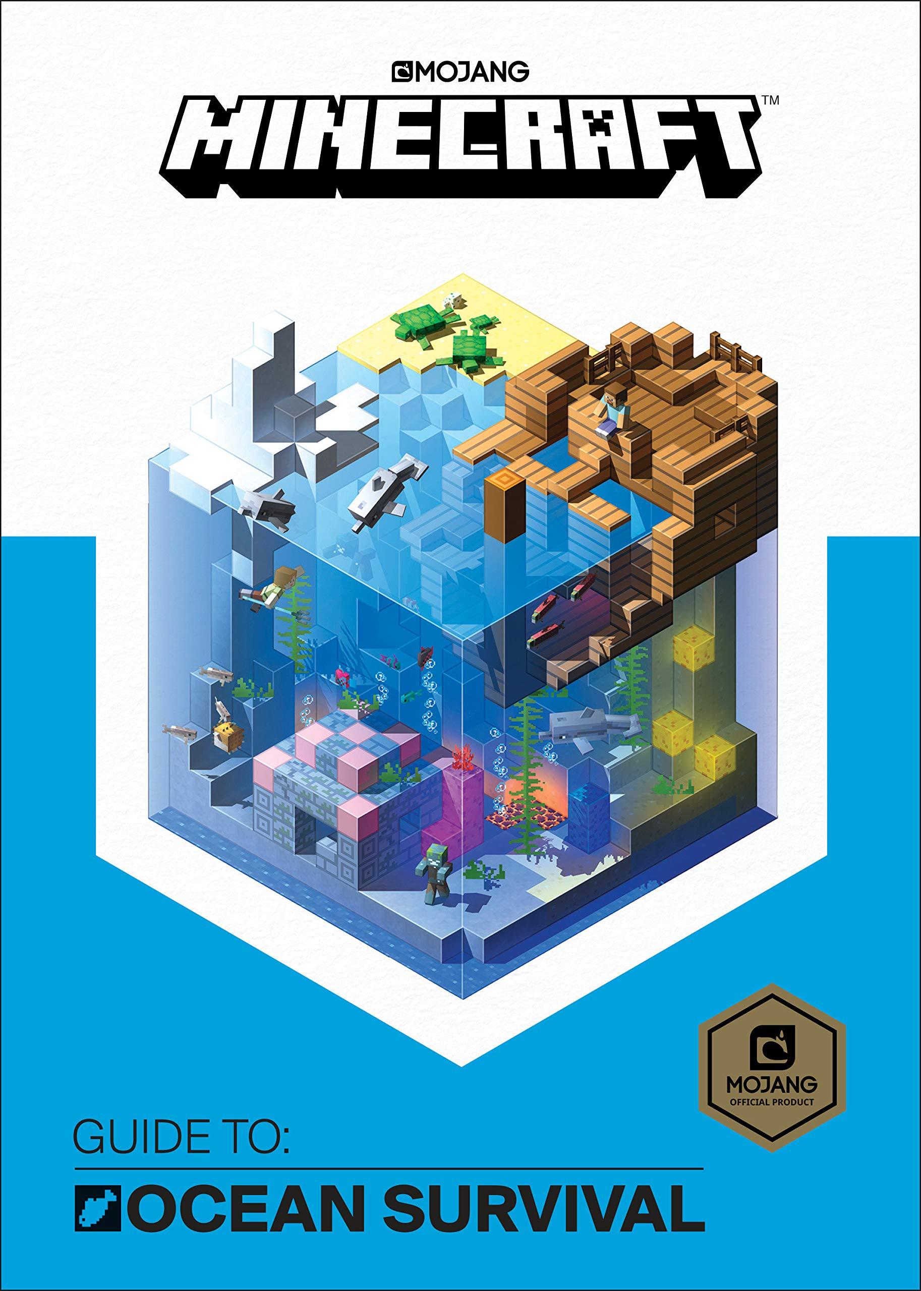 Minecraft: Guide to Ocean Survival  Amazon.com.br