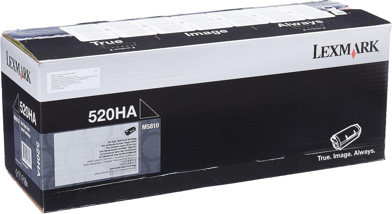 Amazon.com: Lexmark 52D0HA0 tóner de alto rendimiento ...