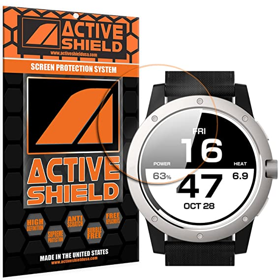 Matrix Powerwatch (3 PACK) Screen Protector Active Shield all weather Premium HD shield with Lifetime Replacement Incentive Program