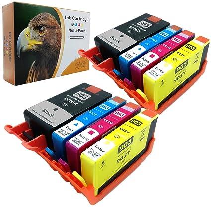 D & C Cartuchos de impresora compatible equivalente a HP 903 ...