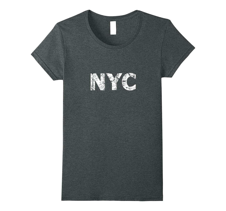 NYC, New York City Grunge T-shirt