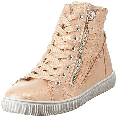Lico Mädchen Treasure Hohe Sneaker, Gold (Rosegold), 33 EU