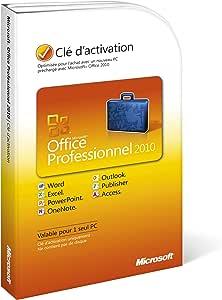 Amazon.com: Microsoft Office 2010 Professional Product Key ...