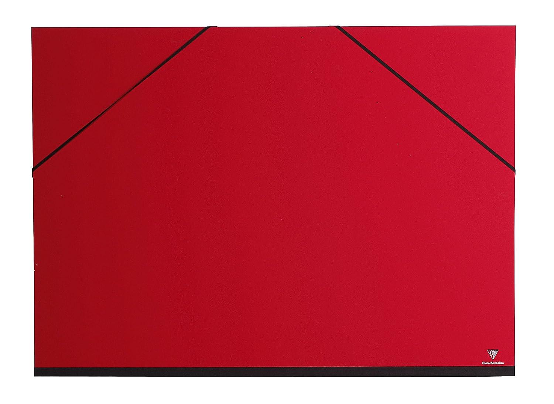 Gummizug, 52 x 72 cm, ideal zur Aufbewahrung Ihrer Werke indigo Clairefontaine 44402C Zeichenmappe