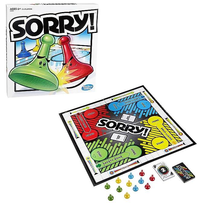 Amazon Hasbro Sorry 2013 Edition Game Toys Games