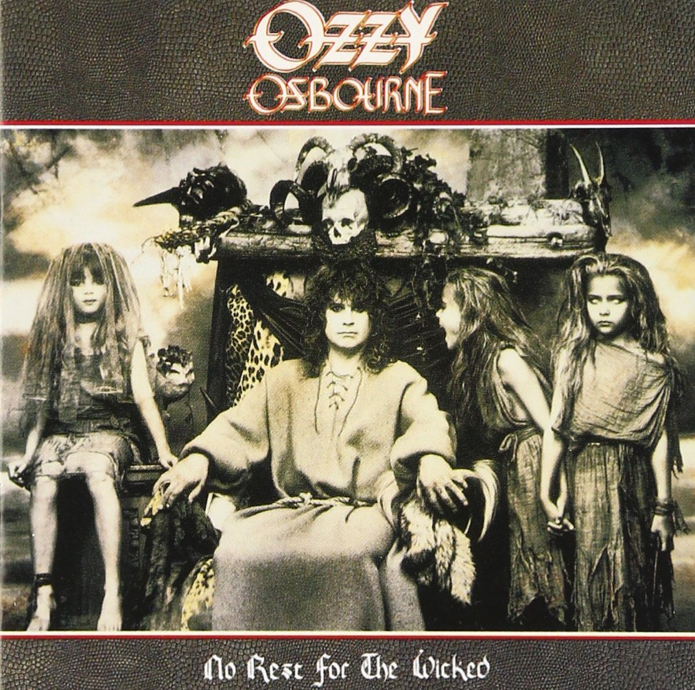 CD : Ozzy Osbourne - No Rest for the Wicked (CD)
