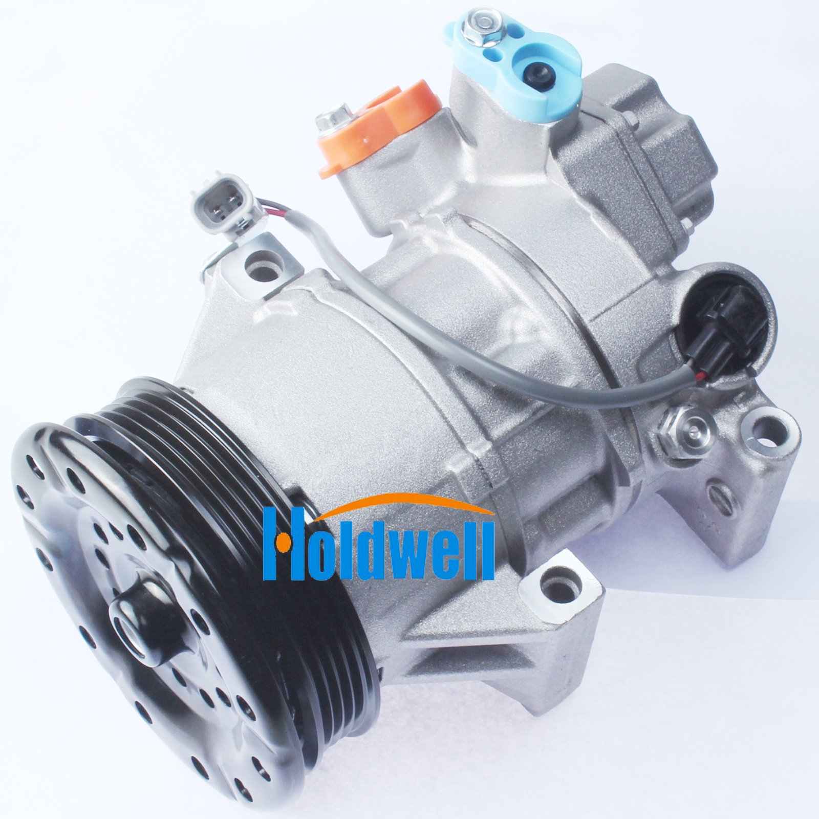 Holdwell 4PK AC Compressor 88310-52550 88310-52492 for Toyota yaris 1.3 Denso 5SER09C by Holdwell (Image #2)