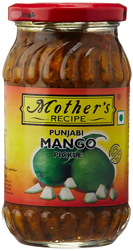 Mother's Recipe Punjabi Mango Pickle, 400g