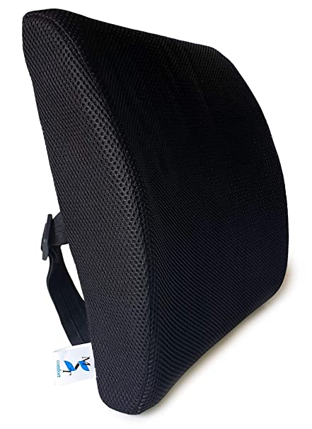 Cojín lumbar - Soporte de espalda para coche, silla de ...