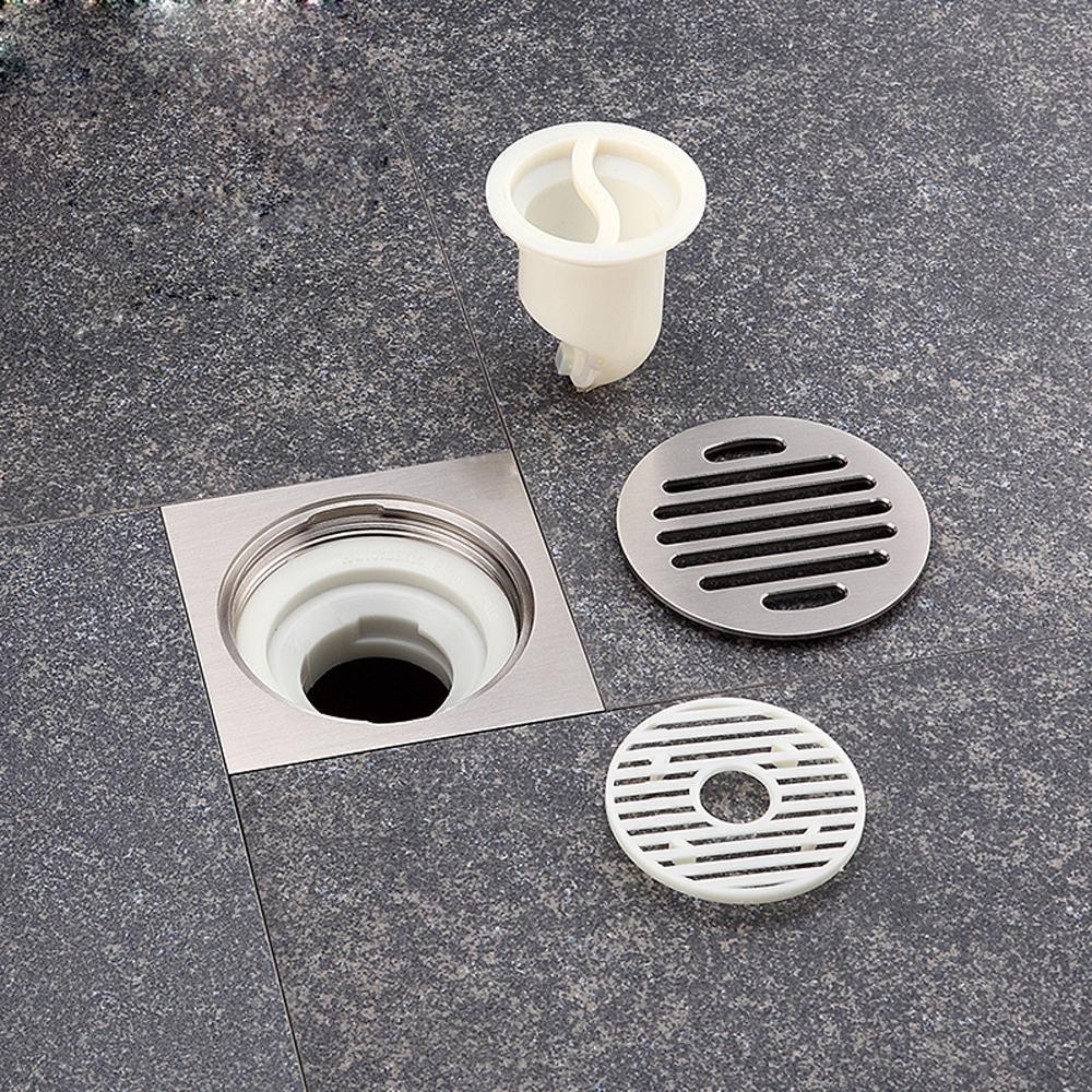 bbslt de baño Grade Cobre drahtziehen un desagüe de suelo, Zippo y ...