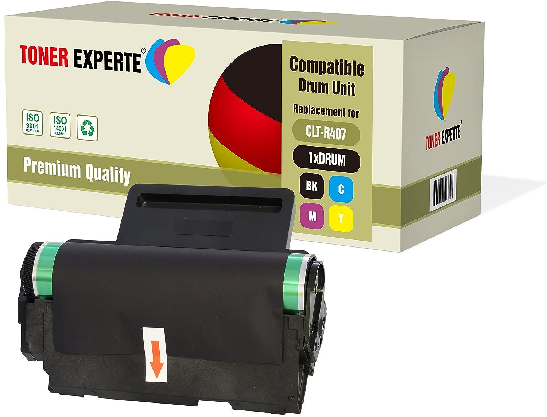 TONER EXPERTE/® CLT-R407 Kit Tambour Compatible pour Samsung CLP-320 CLP-320N CLP-320W CLP-325 CLP-325N CLP-325W CLX-3180 CLX-3180FN CLX-3180FW CLX-3185 CLX-3185FN CLX-3185FW CLX-3185N CLX-3185W