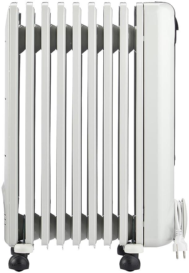 DeLonghi TRRS 0920 Calentador de aceite Interior Blanco 2000 W - Calefactor (Calentador de aceite, Interior, Blanco, Interruptor, Giratorio, ...