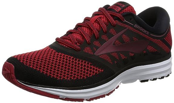 1095f761376 Brooks Men s Revel Toreador Tawny Port Black Athletic Shoe  Amazon.in  Shoes    Handbags