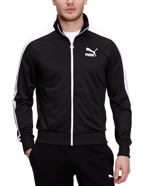 448242ad7900 Puma T7 Men s Track Jacket  Amazon.co.uk  Sports   Outdoors