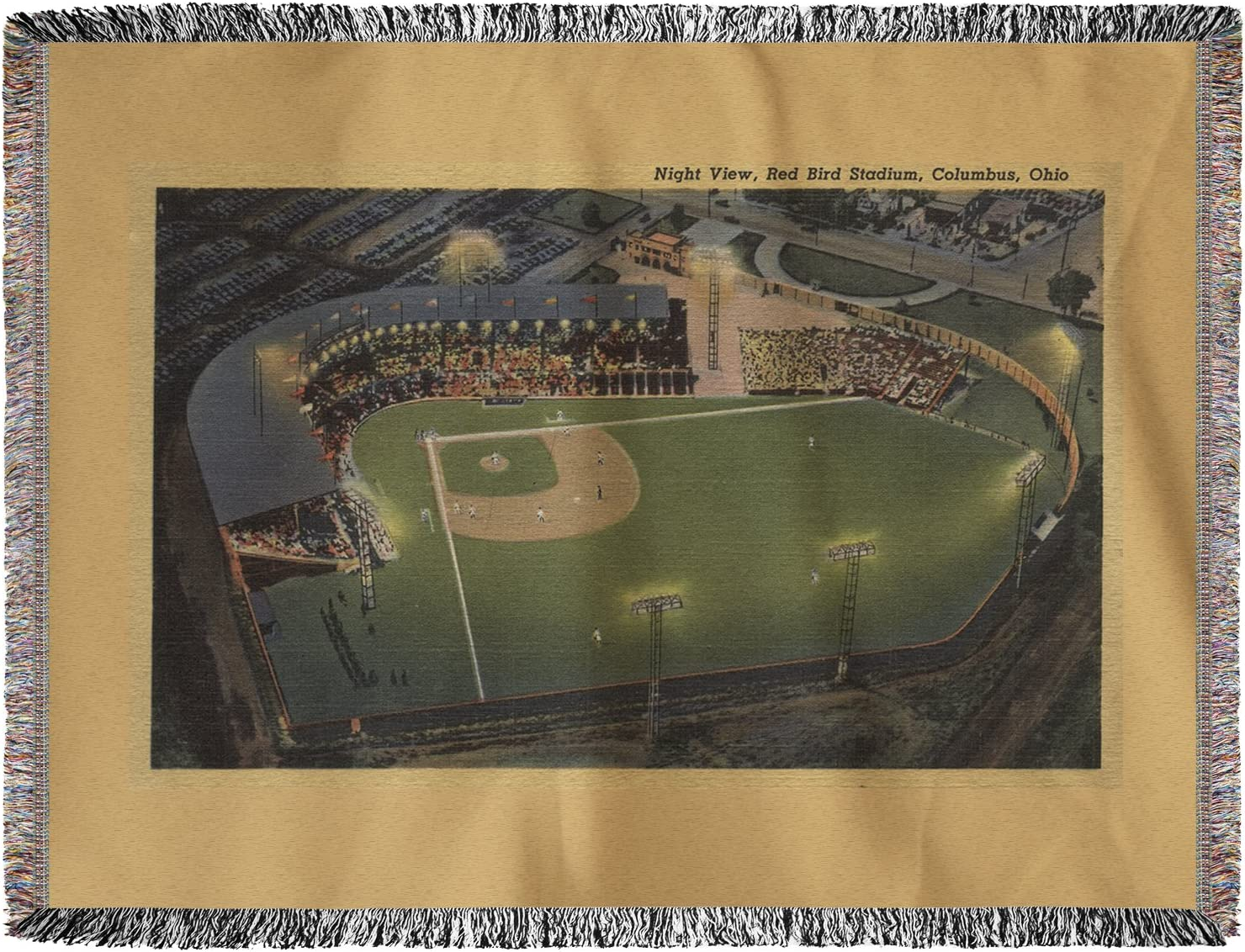 Columbus, OH – Antena de red bird estadio de béisbol (60 x 80 ...